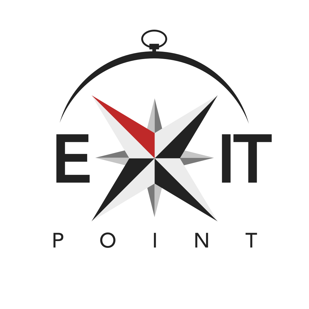 Exit point compass logo