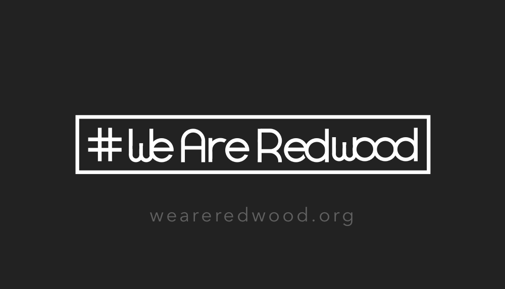 #weareredwood business card